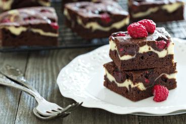 Die Brownies auf diesem Bild haben gesamthaft 8'000 Kalorien. Damit könnten Sie vier Kinder für einen Tag lang ernähren. Oder Cindy aus Marzahn für fünf Minuten glücklich machen.  bild: shutterstock