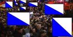 Heute Abend werden hunderttausende patriotische Zürcher die Strassen säumen. bild: getty images europe