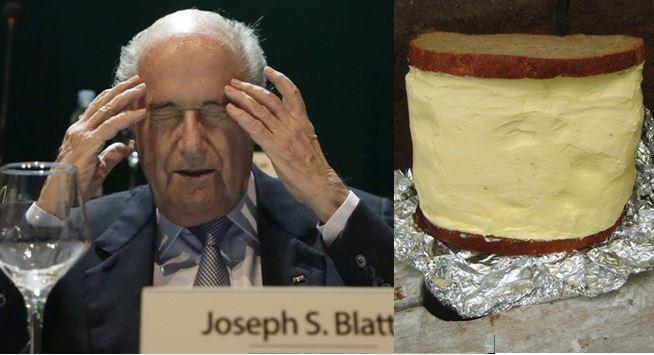 Trägt gemäss FBI-Aussagen gerne dick auf: Sepp Blatter.