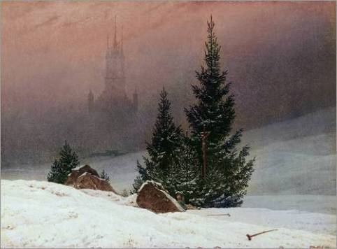 poster-winterlandschaft-mit-kirche-305584