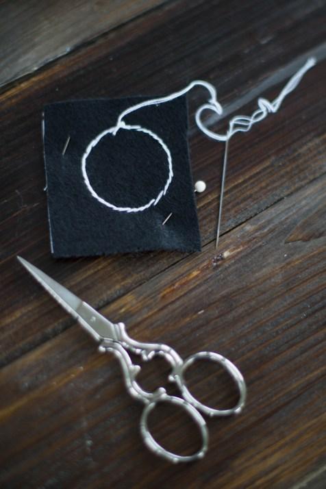 Kette Sticken DIY Schmuck geometrisch_-4