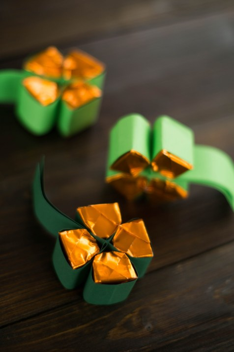 Kleeblatt DIY Küsschen St Patricks Day-11