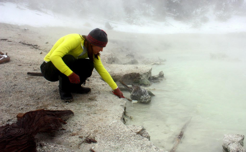 How to Sample for Extremophiles in Yellowstone National Park