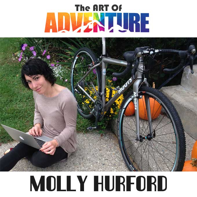 How to be a Professionally Nomadic Cycling Writer | Molly Hurford | AOA 006