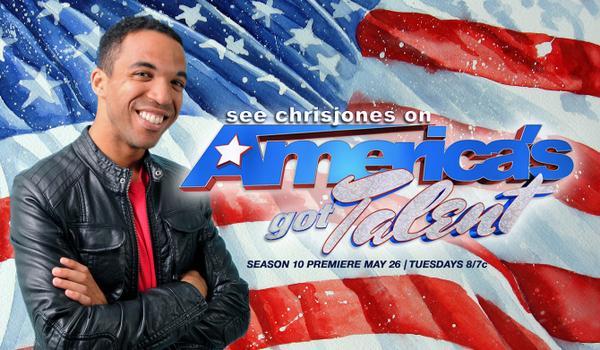 Chris Jones Art of Adventure Americas got talent