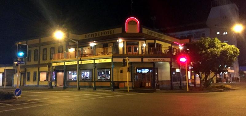 Art of Adventure Derek Loudermilk New Zealand North Island Auckland Palmerston North Pub Hotel