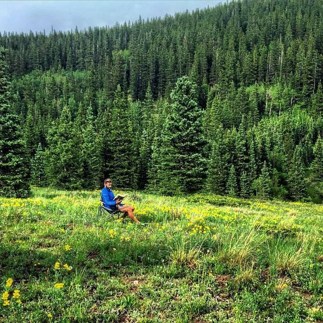 Rocky Mountains Spanish Peaks Reading Art of Adventure