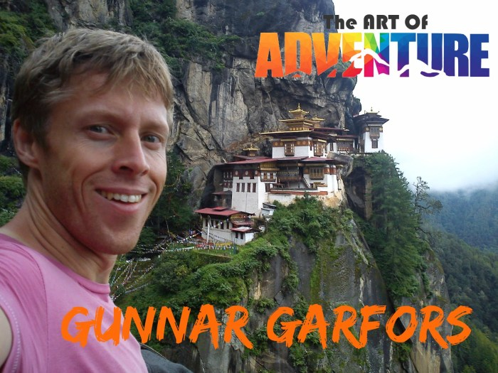 Gunnar Garfors Art of Adventure