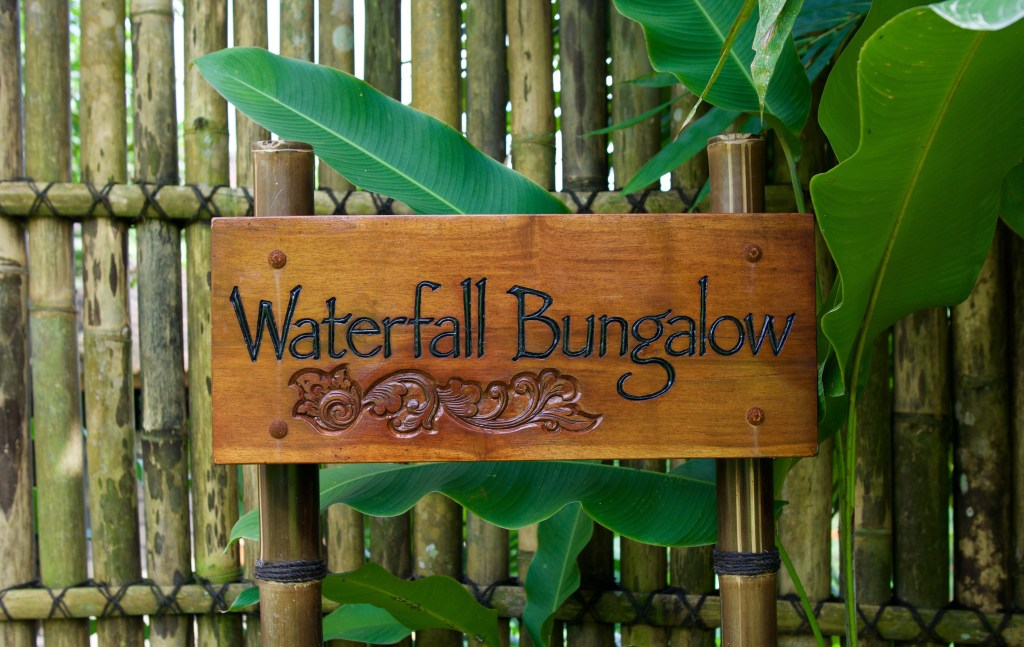 Bali Eco Stay Waterfall Bungalow