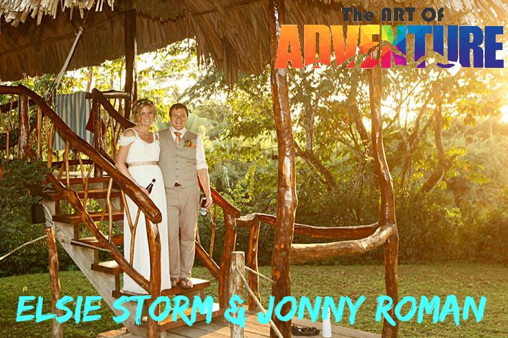 AOA 151 | Elsie Storm and Jonny Roman | Adventure Weddings