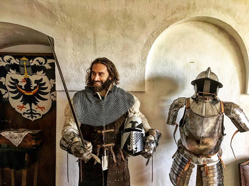 Derek Loudermilk suit of armor