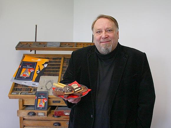 Krimiautor Uwe Voehl 2016