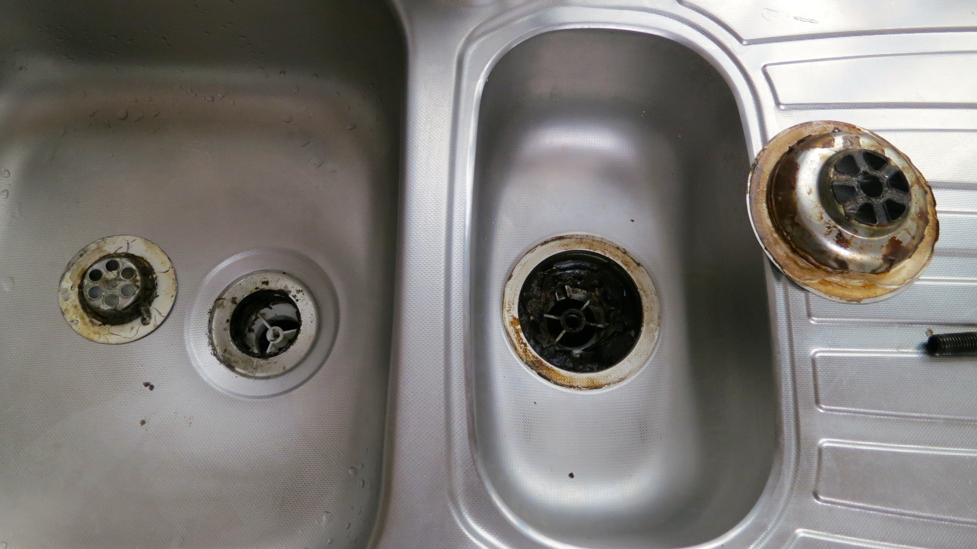 how to replace a kitchen sink plug hole replacing a kitchen sink Kitchen Sink Derrickjknight