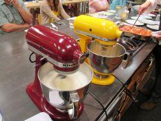 Running two mixers for tiramisu