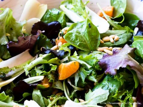 salade verte endives pinards et cl mentines le gourmand du dimanche. Black Bedroom Furniture Sets. Home Design Ideas