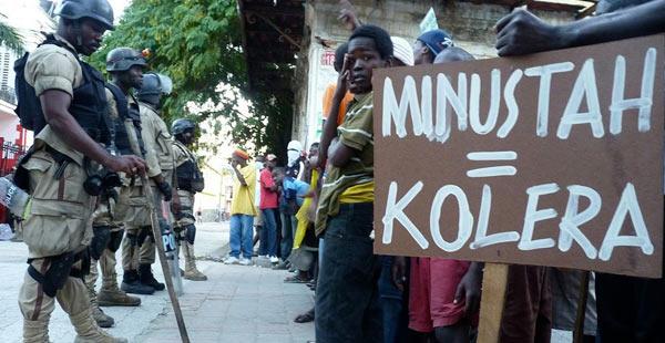Nações Unidas contrariam pedido dos movimentos sociais e renovam missão no Haiti
