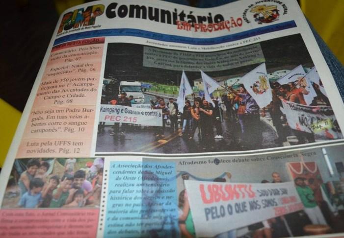 """Comunitário: """"Seja bem-vindo 2016, te esperamos com um Jornalismo comprometido com a causa da vida"""""""