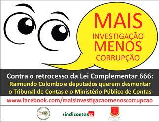 Entidades lançam campanha em defesa do controle dos gastos públicos em SC