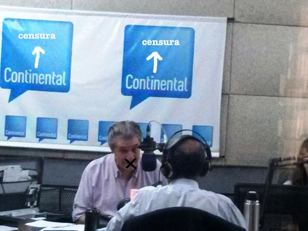 Solidariedade com Víctor Hugo Morales e com a Liberdade de Expressão na Argentina