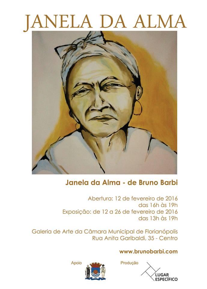 """Exposição """"Janela da Alma"""" do artista Bruno Barbi"""
