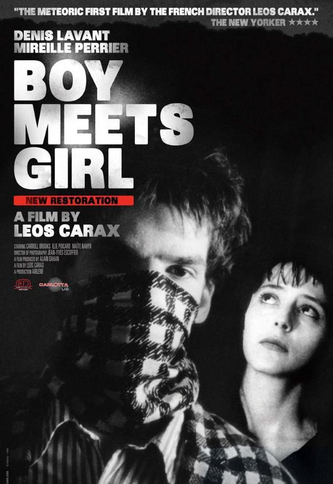 "Cineclube Badesc exibe ""Boy Meets Girl"" de Leos Carax"