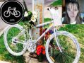 Ghost Bike em memória de Simoni Bridi