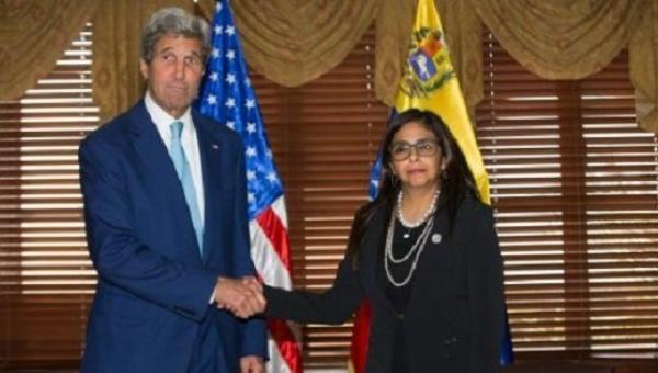 EUA faz uma mudança histórica na sua posição sobre a Venezuela