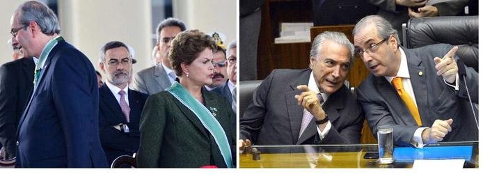 """Cunha ameaça derrubar Temer, """"ficarei conhecido por derrubar dois presidentes do Brasil"""""""
