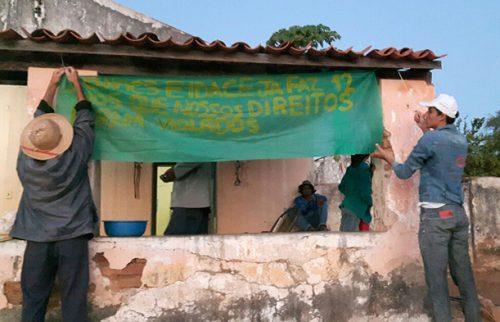 Atingidos pela barragem do Figueiredo no Ceará realizam ocupação pelo direito a terra