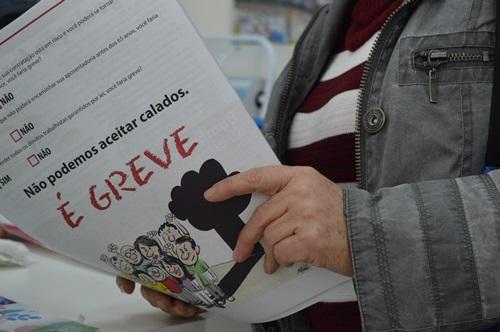 Grupo de São Miguel do Oeste-SC fala sobre perda de direitos e alerta para greve geral caso seja preciso