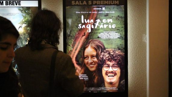 Lua em Sagitário, o Oeste Catarina no Cinema