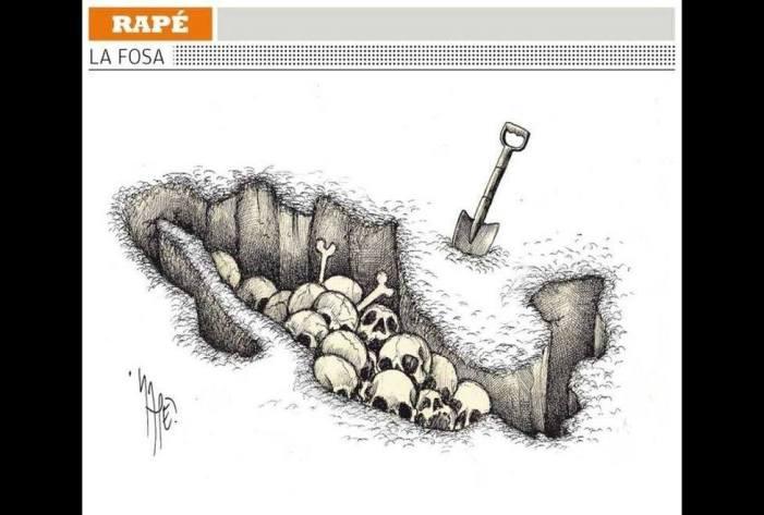 México, o país das sepulturas clandestinas