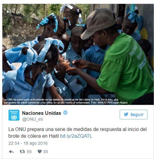 tweet ONU