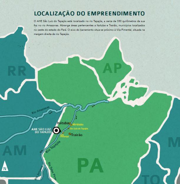 Ibama nega recurso da Eletrobras para retomar licenciamento da usina de Tapajós
