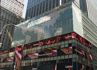 Ex-sede do Lehman Brothers, banco de investimentos falido em 2008, no bojo da crise financeira internacional / Foto: David Shankbone