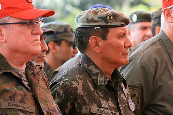 O general da reserva Franklimberg Ribeiro de Freitas, indicação do PSC à presidência da Funai