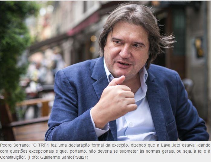"""Pedro Estevam Serrano: """"O que parece estar ocorrendo na América Latina é a substituição da farda pela toga"""""""