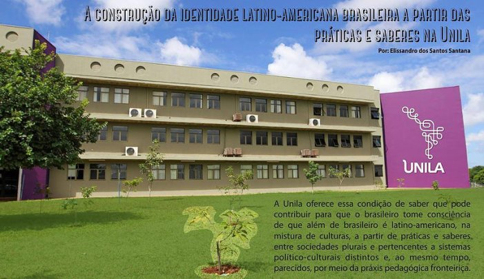A integração a partir da construção da identidade cultural latino-americana brasileira nas práticas e saberes na Unila