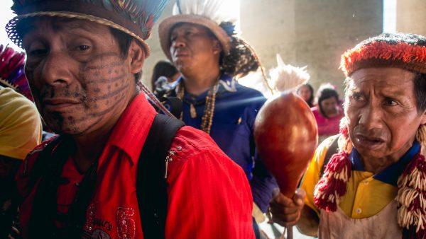 """""""Chega de tutela, chega de autoritarismo"""": Indígenas denunciam militarização da Funai no MS à ONU e cobram Ministério da Justiça"""