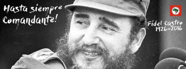 Em nota, MST ressalta a importância do legado de Fidel para as gerações futuras