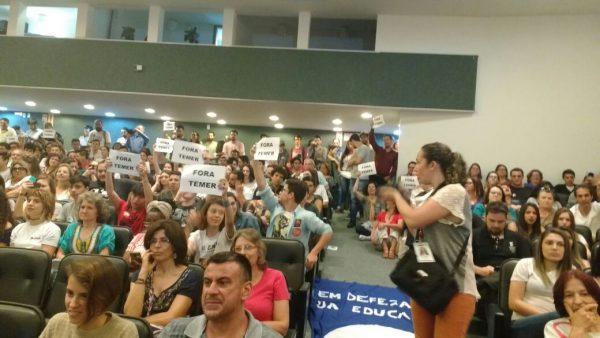 ACOMPANHE AO VIVO – Audiência pública sobre a reforma do ensino médio proposta por Michel Temer #MP746