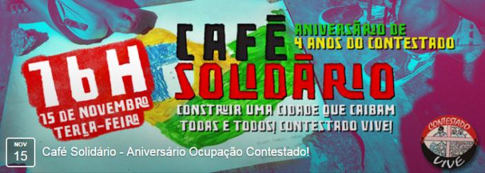 Café Solidário: 4 anos de Ocupação