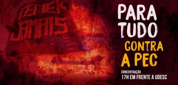 25 de novembro: Para tudo contra a PEC