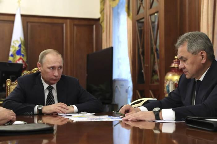 """Cessar-fogo na Síria"", diz Putin"