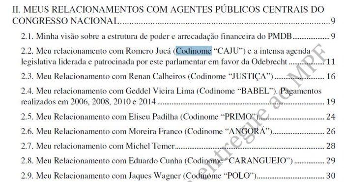 Delação da Odebrecht na íntegra. Temer e todos os delatados por Cláudio Melo