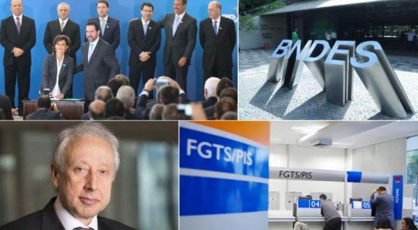 No desmanche do BNDES, grana do FAT e do FGTS seria entregue a bancos privados, denunciam funcionários