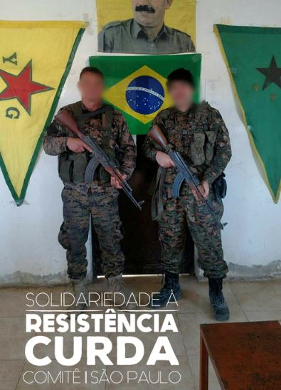 Entrevista com um combatente brasileiro em Rojava, Curdistão