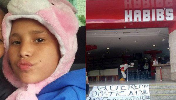 Habib's viola Estatuto da Criança e do Adolescente, diz advogado