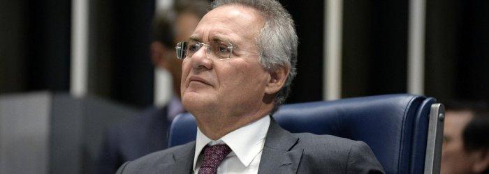Renan lidera motim contra lei da terceirização
