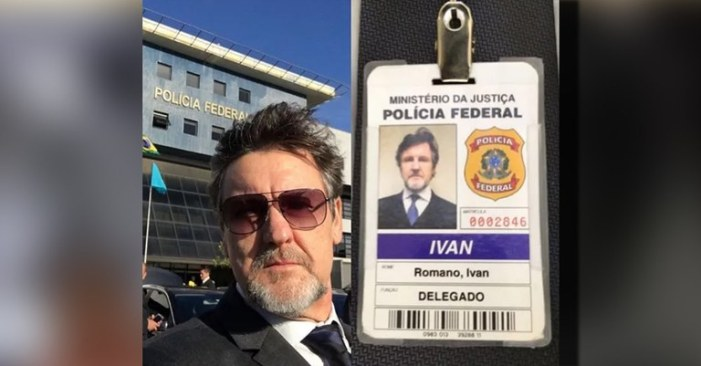 Sórdido: PF dá crachá a ator de filme contra Lula